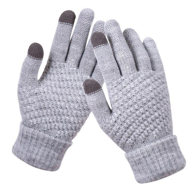 Bright Orange Gloves for Men and Women 3