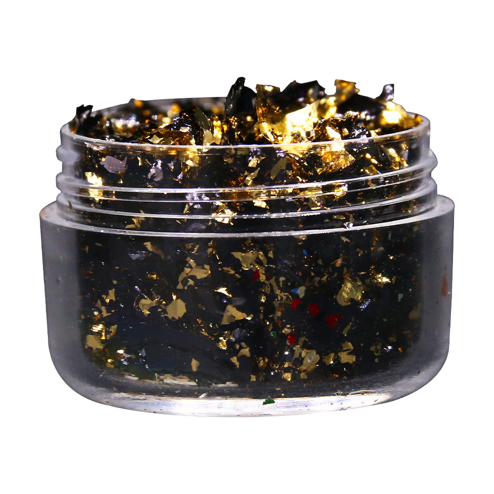 Crafts Nail-Decoration Foil-Flakes Alloy-Foil Fragments Gold Painting-Arts Imitation-Gold title=