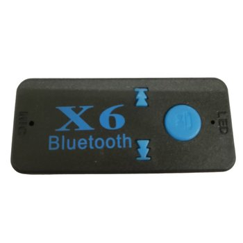 Portable Bluetooth 5.0 Audio Receiver Mini 3.5mm HIFI Stereo Bluetooth For TV PC Wireless Adapter For Car Speaker Headphones image