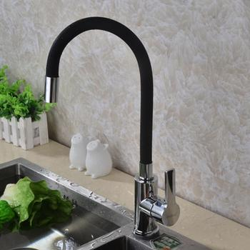 HobbyLane Copper Valve Body Any Direction Kitchen Faucet Cold and Hot Water Mixer Water Tap tanie i dobre opinie Mosiądz