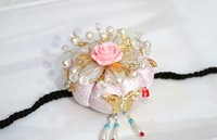 South Korea Imported Rope Ancient Asian Hair Accessories Stage Headdress Latest/bride Headdress Top Quality + Free Shipping