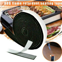 High Heat Barbecue Smoker Gasket BBQ Door Lid Seal Adhesive Sealing Tape for Grill @LS