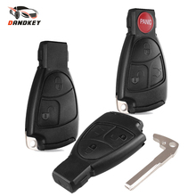 Dandkey 2/3/4 Buttons Car Key Replacement For Mercedes Benz C B E Class W203 W211 W204 YU BN CLS CLK Remote Key Shell Case Cover