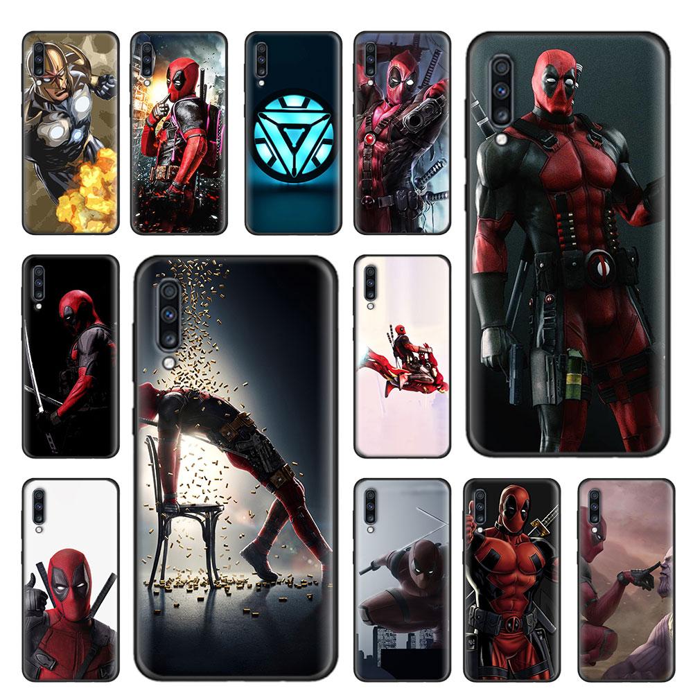 Deadpool Iron Man Soft Case For Samsung Galaxy A51 A71 5G A80 A70 A70s A50 A50s A40 A30 A20 A10 A21s TPU Cover Capa