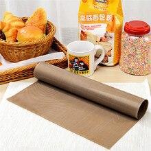 SEAAN многоразовый тефлоновый антипригарный бумажный коврик для выпечки в духовке жаростойкий легко чистящийся барбекю выпечка, гриль лист макарон