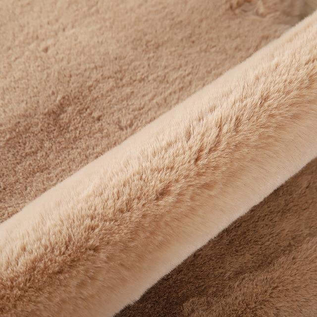 Doux ours en peluche tapis pour salon bébé chambre tapis anti-dérapant chambre Absorption deau tapis tapis Shaggy maison tapis de sol