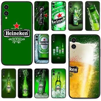 Cerveza Heineken funda del teléfono para Huawei Honor 10 10i 20 6A 7A 8 8A 8X 9 9X jugar 20 Lite Pro negro de moda hoesjes 3D