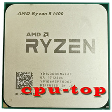 CPU Processor R5 1400 Amd Ryzen AM4 Quad-Core NO 2 Yd1400bbm4kae-Socket No-Fan