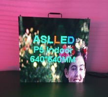 P5 640*640MM Die-cast aluminum cabinet LED display panel led display screen P5 indoor full front serviceability led screen