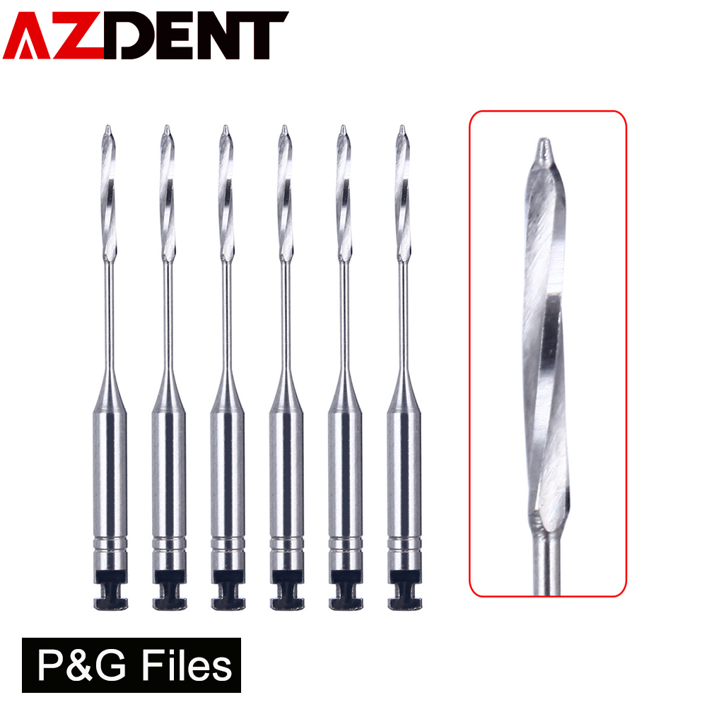 6Pcs/Box Dental Endodontic Files Reamers Drill Burs Peeso Reamers Endo Files Dentist Tools Dental Instruments Dentist Tools