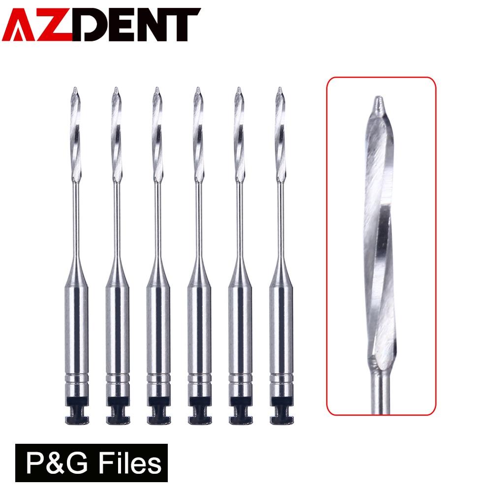 6Pcs/Box Dental Endodontic Files Reamers Drill Burs Peeso Reamers Endo Files Dentist Tools Dental Instruments Dentist Tools