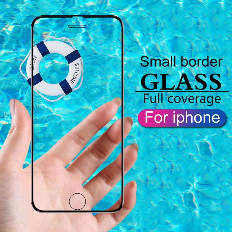 Protective Glass For IPhone 6 6S 7 8 Plus X XR XS 11 Pro MAX Glass On Iphone 7 6 8 X XS MAX 11 Pro Screen Protector Protection