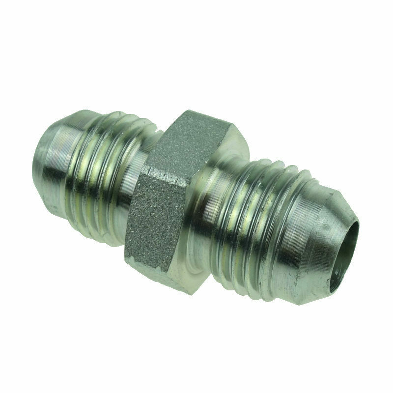 Hydraulic Adapter Fitting Straight Male Connector 3/8