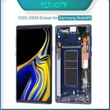 100% Ori dla SAMSUNG Galaxy Note 8 9 Super AMOLED wyświetlacz OLED wyświetlacz LCD z ekranem dotykowym wymiana zespołu Digitizer nowy OEM