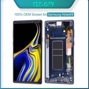 Image 1 - 100% Ori per SAMSUNG Galaxy Note 8 9 Display OLED Super AMOLED Display LCD Touch Screen Digitizer Assembly sostituzione nuovo OEM