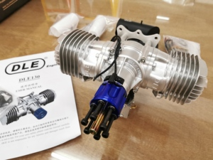 Image 5 - New DLE Gasoline Engine DLE130 Rear Exhaust 130CC For RC Airplane