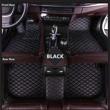 SJ ALL Weather Custom Fit Car Floor Mats Front & Rear FloorLiner Styling Auto Parts Carpet Mat For Cadillac ATS 2013 2014