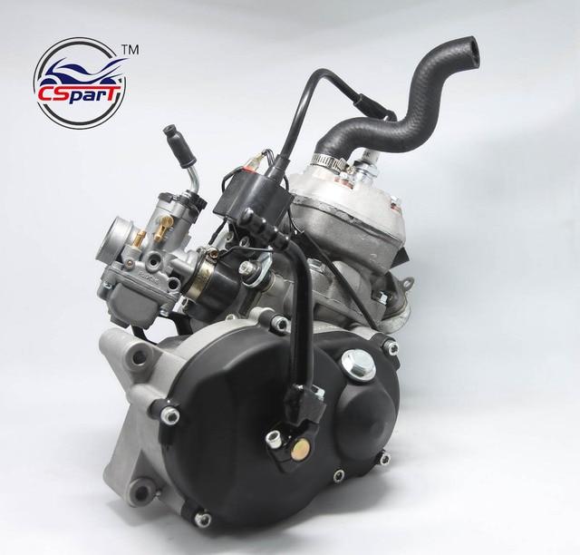 49CC เครื่องยนต์ระบายความร้อนด้วยน้ำสำหรับ 05 KTM 50 SX PRO อาวุโส Dirt PIT CROSS จักรยานคาร์บูเรเตอร์