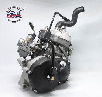 Motor refrigerado por agua de 49CC para 05 KTM 50 SX PRO Dirt Pit Cross Bike con carburador
