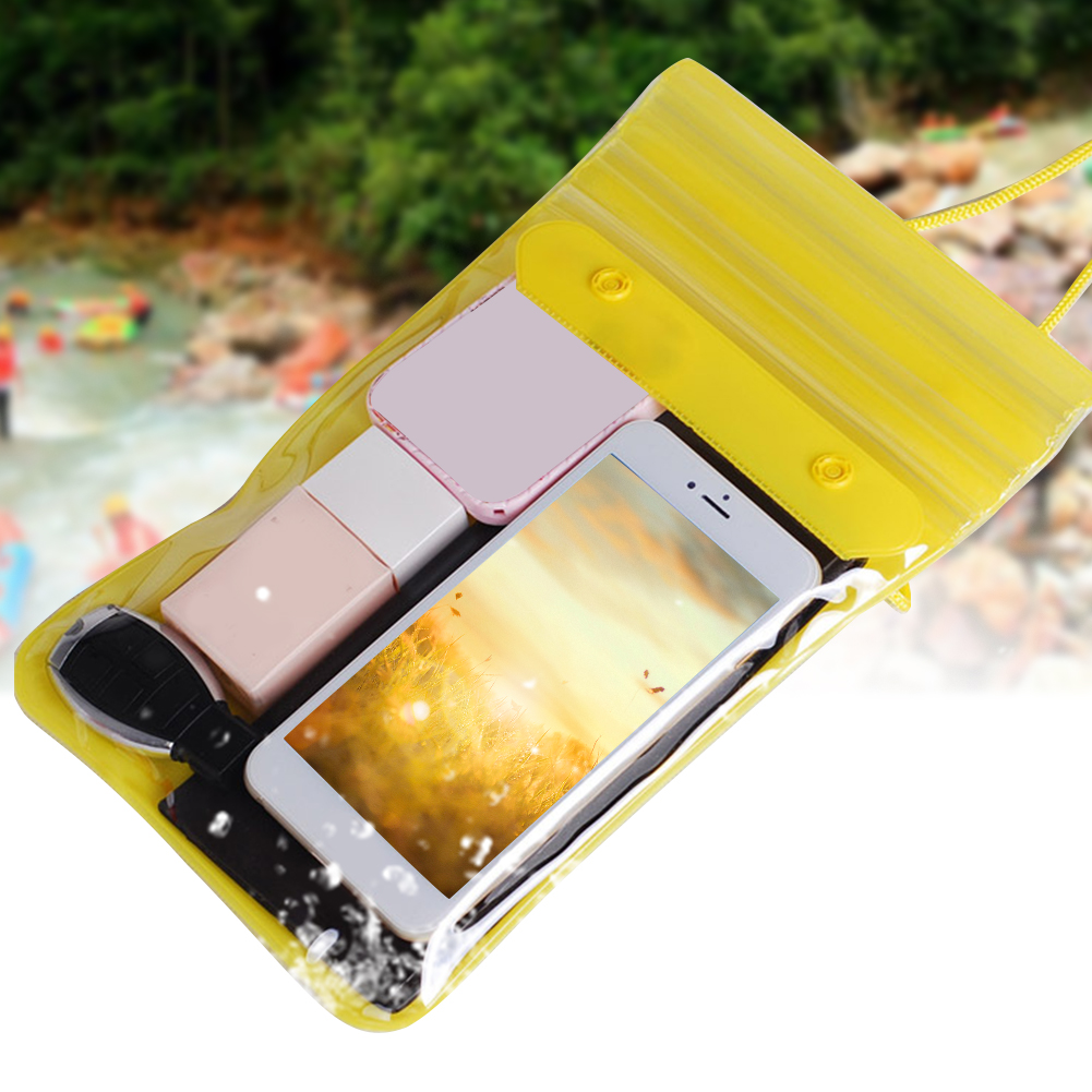 Beach Rafting Waterproof Dry Songkran Festival Outdoor Wallets With Straps Keys Swimming Bag Cosmetics Dirtproof Phone Storage