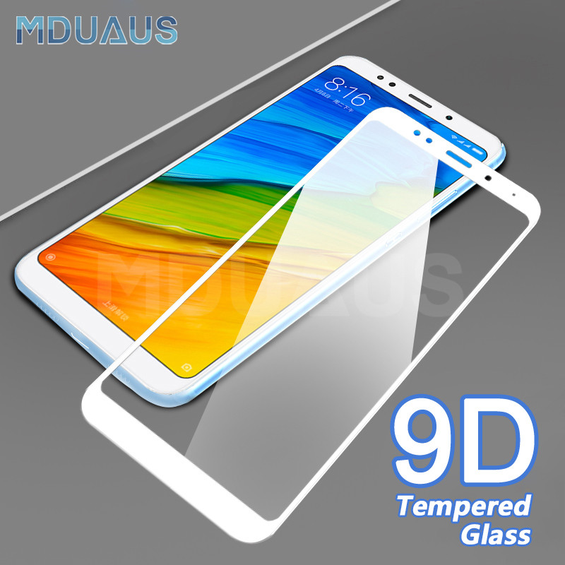 <font><b>9D</b></font> Protective Glass on the For <font><b>Xiaomi</b></font> <font><b>Redmi</b></font> 5 Plus 5A S2 K20 Pro <font><b>Redmi</b></font> 4 Pro <font><b>4X</b></font> 4A Tempered Screen Protector Glass Film Case image