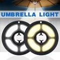 USB уличные палки палатки Кемпинг огни перезаряжаемый зонтик Светодиодная лампа для фонаря пляжный сад патио зонтик светильник