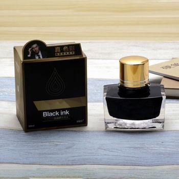 Smooth Writing Gold Fountain Pen Ink Refill ink Glass School Office Supplies фото