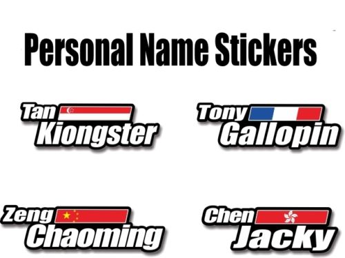 mtb bicycle helmet decoration decals <font><b>Bike</b></font> <font><b>frame</b></font> <font><b>protection</b></font> <font><b>stickers</b></font> custom flag name <font><b>sticker</b></font> cycling accessories Free shipping image