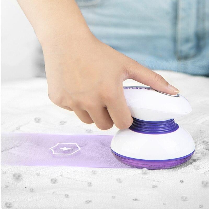 Bola aparador de pêlos máquina removedor elétrico fluff picker tecido shaver pílula removedor para la popa carga usb