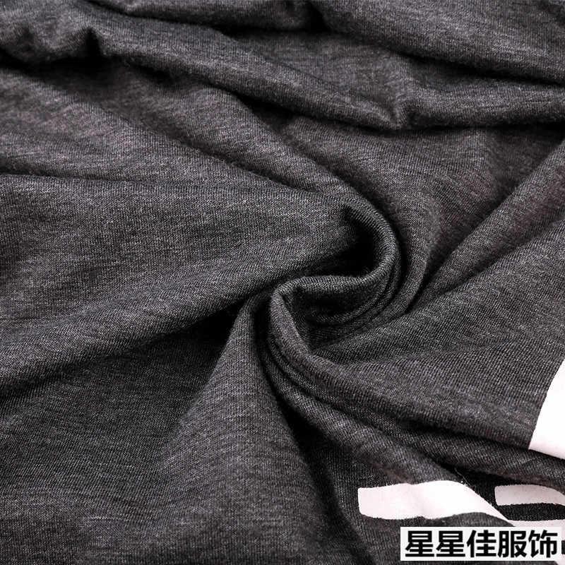 Plus Ukuran 10XL 8XL 6XL Dasar Baru Lengan Panjang Pria T Shirt Merek Pakaian Klasik Kasual Dicetak Katun Tee Peregangan t-shirt Pria