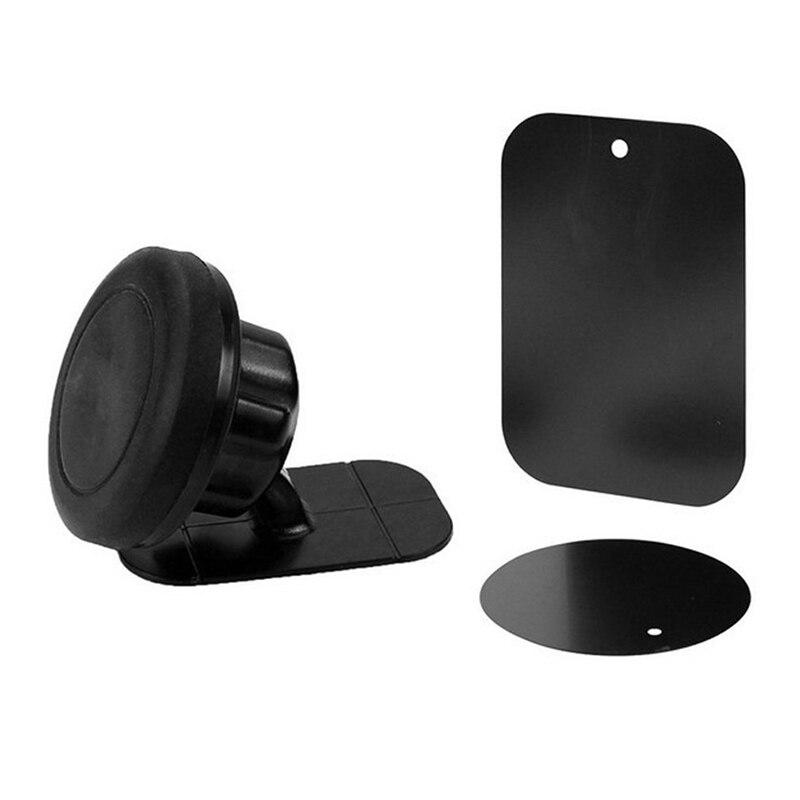 Mobile Phone Holder 360° Rotation Adjustable Angle Universal Stick On Dashboard Magnetic Car Mount Holder Portable Cradle