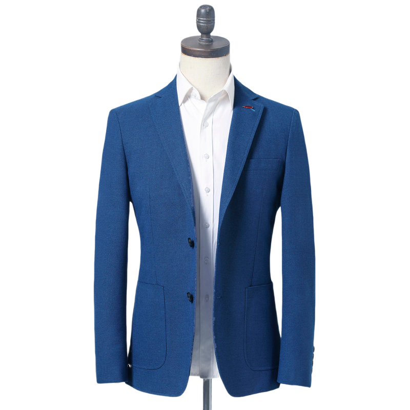 Whisnos Brand Spring Autumn Men Blazer Fashion Slim Suit Jacket Men Business Casual Clothing High Quality Men's Suit Male