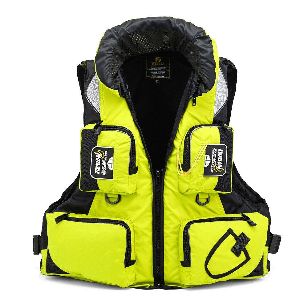 CE Buoyancy Suit Portable Fishing Vest Adult Professional Road Asian Fishing Suit Sea Fishing Multi-pocket Vest Life Jacket