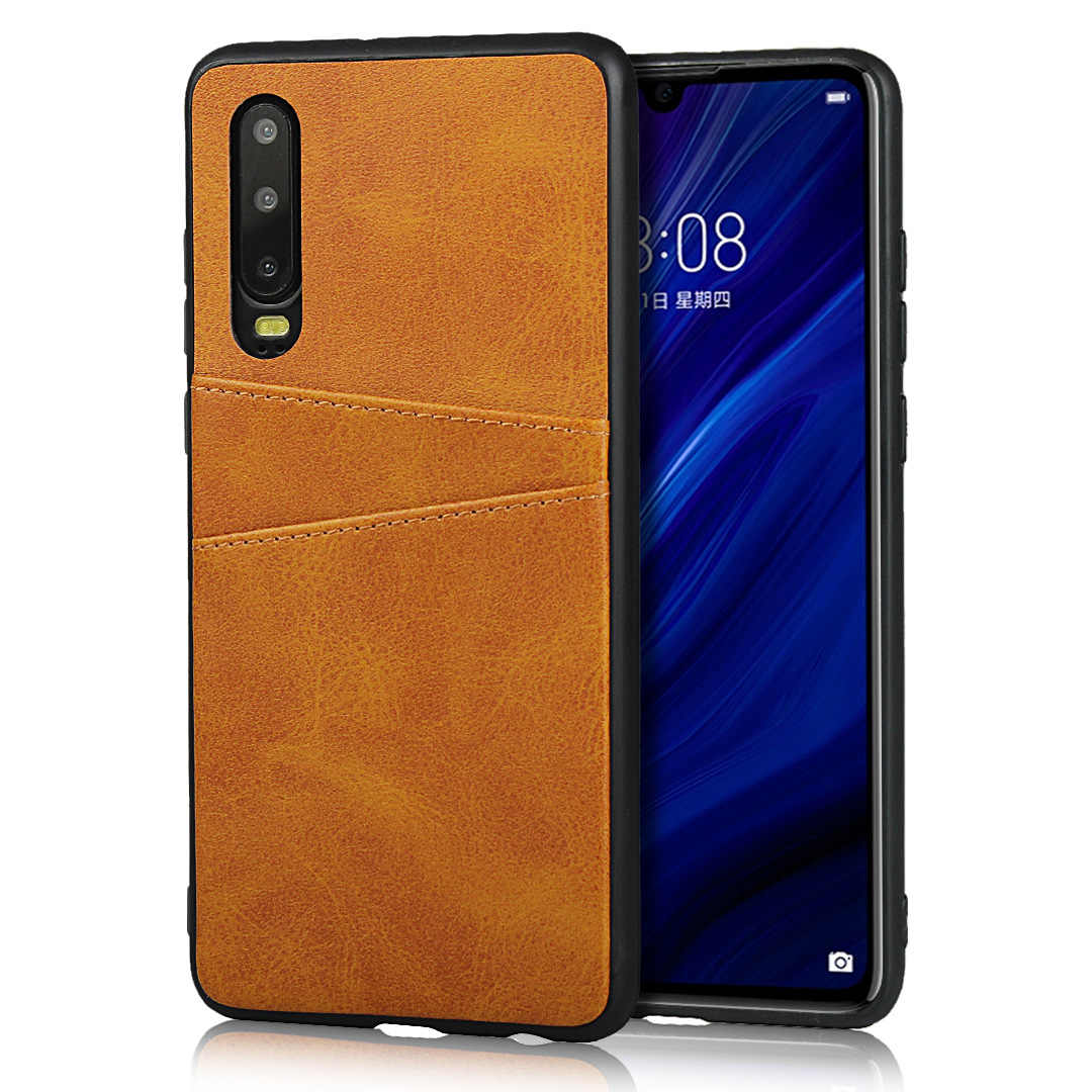 พรีเมี่ยมหนัง PU สำหรับ Huawei Honor 20 กระเป๋าสตางค์และช่องใส่การ์ดป้องกัน HOLSTER ปกหลัง popsocket สำหรับโทรศัพท์มือถือโทรศัพท์