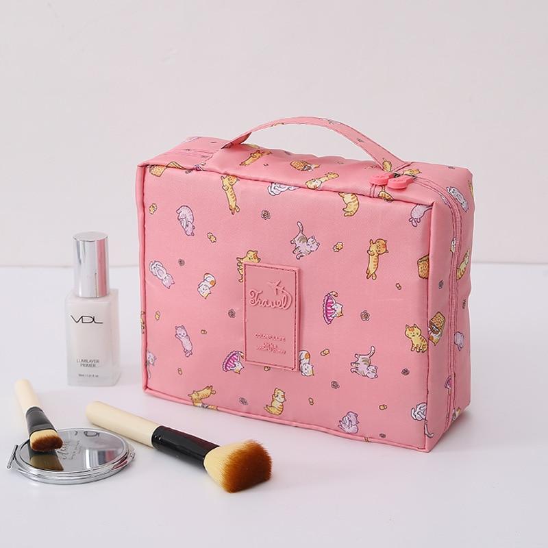 New Multi-function Travel Cosmetic Bag Neceser Cosmetic Bag Toiletries Storage Bag Female дорожные косметички