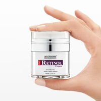 Retinol Moisturizer Cream for Face and Eye Area with Hyaluronic Acid, Vitamin E - Best Day and Night Anti Aging Formula 50g/pc 6