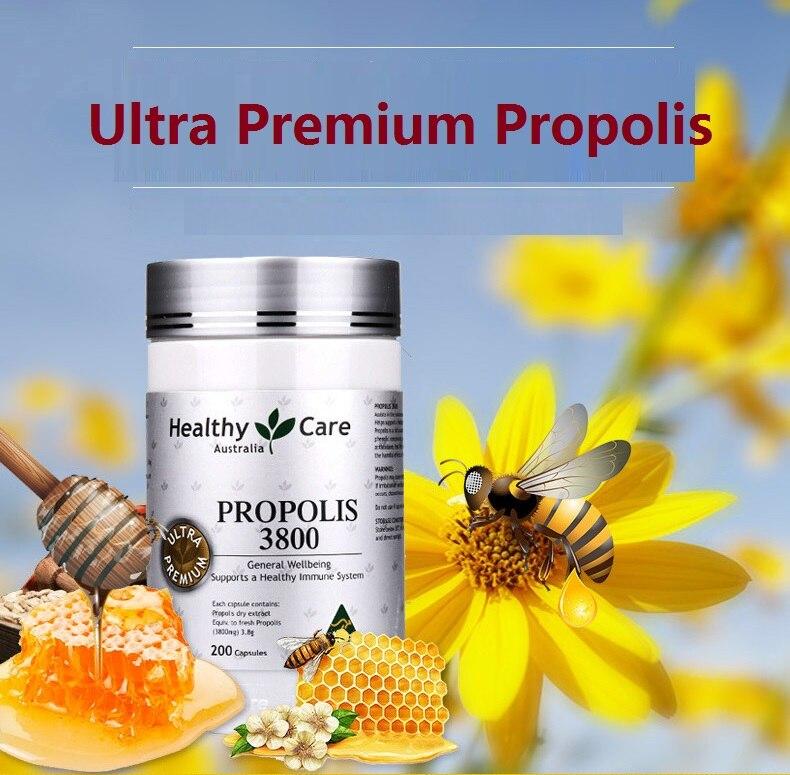 Healthy Care Ultra Premium Propolis 3800mg 200 Capsules (2)