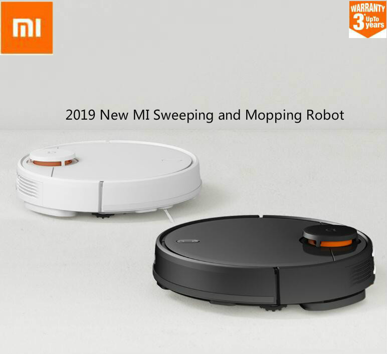 XIAOMI 2nd Generation  STYTJ02YM Robot Vacuum Cleaner Sweeping Mopping Smart Planned With Water Tank LDS+WiFi APP