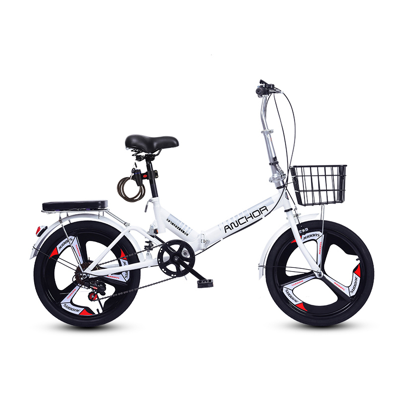 Mountain bike dobrável velocidade variável bicicleta de estrada bmx única velocidade das crianças bicicleta 16.20 Polegada portátil masculino e feminino
