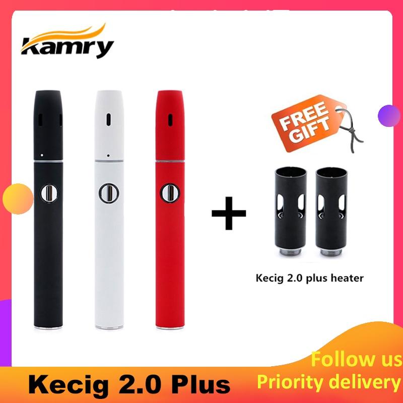 Original Kamry Kecig 2,0 plus wärme nicht brennen verbesserte version 650mah Batterie E Zigarette für heizung Tabak patrone