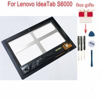 Display LCD Panel Monitor Modulo + Digitizer Touch Screen del Pannello del Sensore Assemblea di Vetro Per Lenovo IdeaTab S6000 S6000 H 60032-in Schermi LCD e pannelli per tablet da Computer e ufficio su