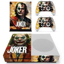 DC Joker cilt Sticker çıkartması Xbox One S konsolu ve kontrolörleri için Xbox One Slim kaplama çıkartmalar vinil