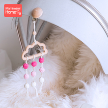 1Pc Baby Teether Pacifier Clip Chain Beech Cloud Tassel Pend