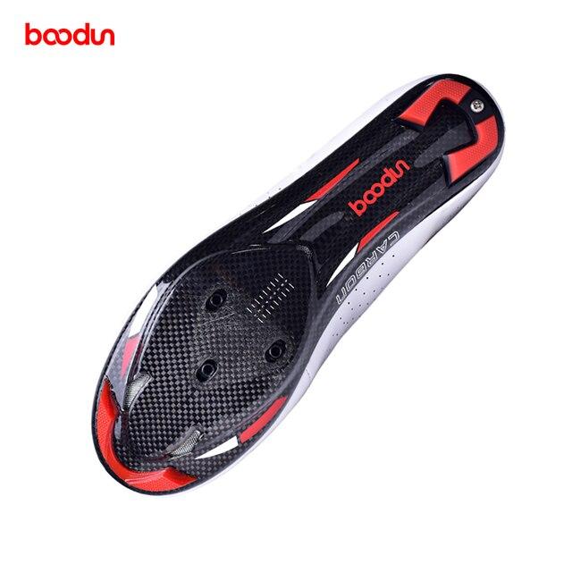 Tênis profissionais para ciclismo de estrada, calçados ultraleve de couro de fibra de carbono, para corrida e estrada, novo, 2020 5
