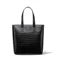 gete Bag 2 new fashionable crocodile skin lady bag leather handbag crocodile belly luxury sensitive tote bag women handbag gete new crocodile handbag fashion luxury european and american leather handbag bag socialite high capacity female bag
