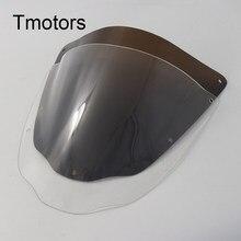 Pare-brise Double bulle en plastique ABS de haute qualité, accessoire de Moto pour Honda NSF100 2006 Moto Sport Touring Racin