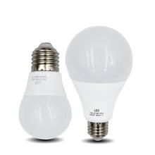 купить LED Light Bulb A60 E27 Lamp 5W 7W 9W 12W 15W 18W Warm white Cold white 220V LED Bombilla Spotlight Table lamp bulb дешево
