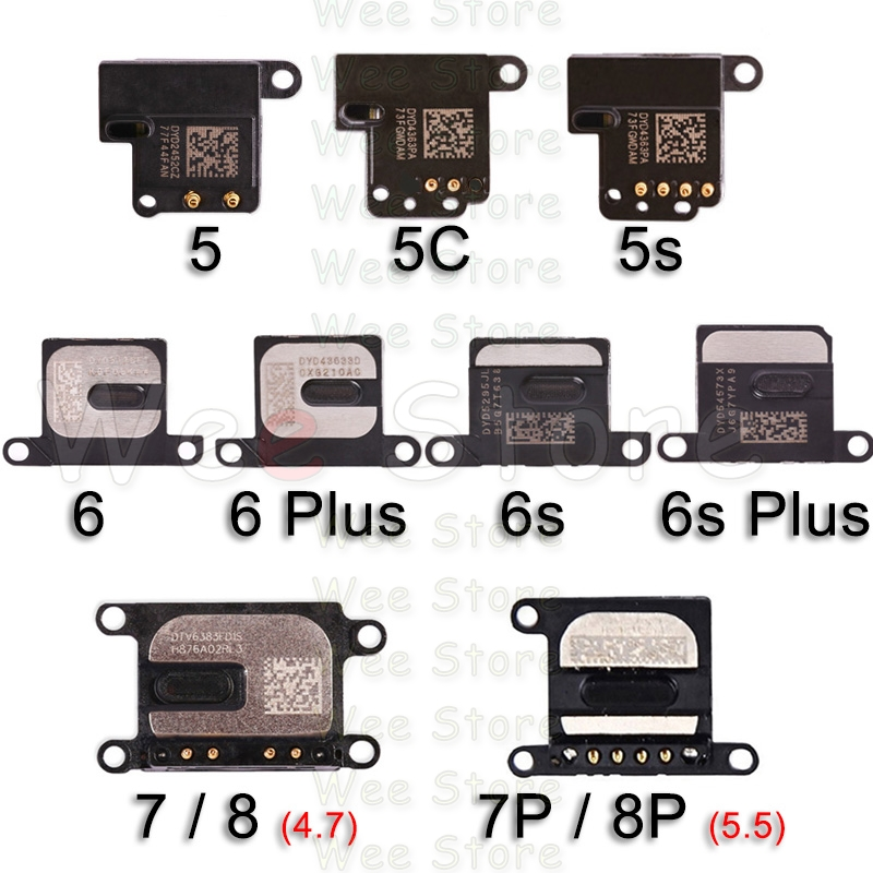Original Top Earpiece Flex For IPhone 6 6s 7 8 Plus 5 5S SE Phone Small Earphone Headphone Ear Speaker Flex Cable