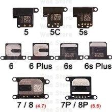 цена на Original Top Earpiece Flex For iPhone 6 6s 7 8 Plus 5 5S SE Phone Small Earphone Headphone Ear Speaker Flex Cable