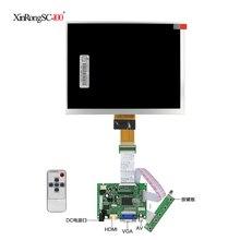 8-дюймовый HE080IA-01D 1024*768 IPS ЖК-дисплей высокой четкости для Raspberry Pi HDMI VGA AV плата управления драйвером